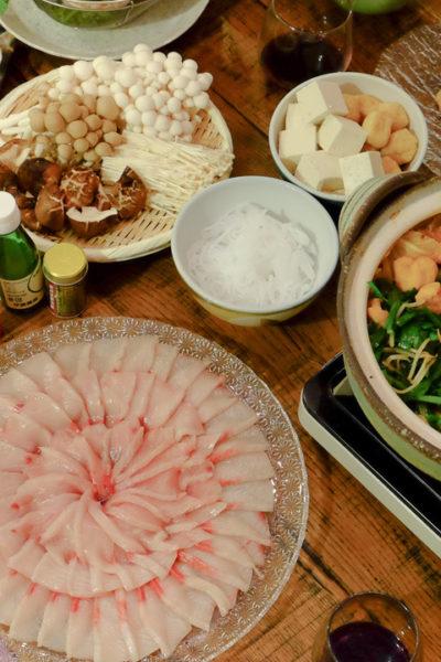 二種類の鍋が楽しい *ぶりしゃぶとキムチ鍋でおうち新年会
