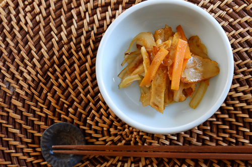** レシピ ** 韓国風・さつま揚げの炒め物
