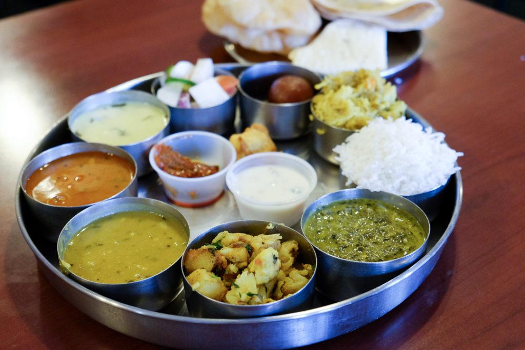 ベジタリアンのインド料理