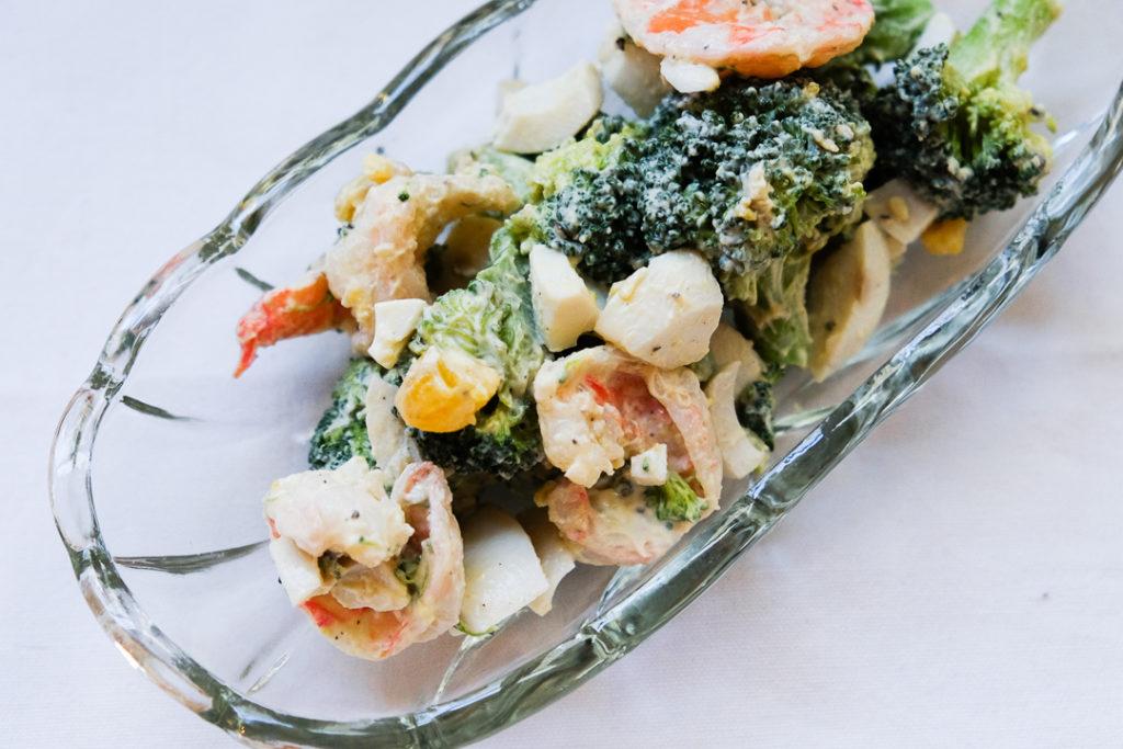 デリ風海老とブロッコリーのタルタルサラダ