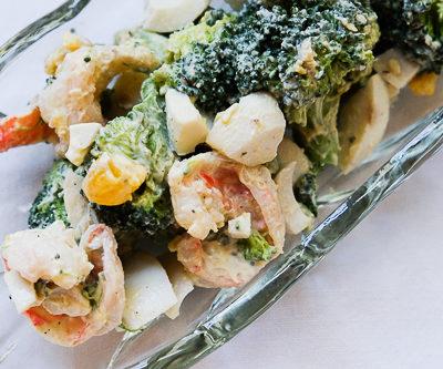 【レシピ】デリ風★海老とブロッコリーのタルタルサラダ