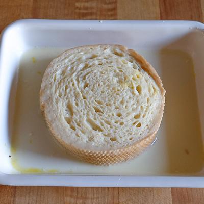 クリームチーズ&バナナスタッフド・フレンチトースト・手順5