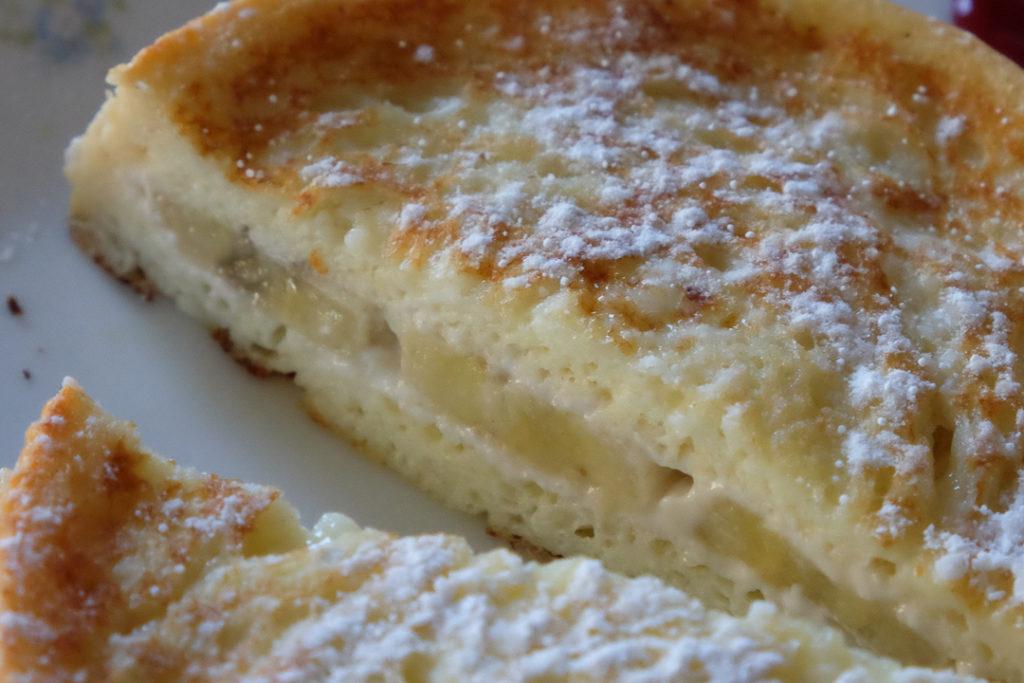 クリームチーズ&バナナスタッフド・フレンチトースト