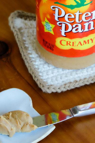 ピーターパンブランドのピーナツバターがとってもかわいい♪
