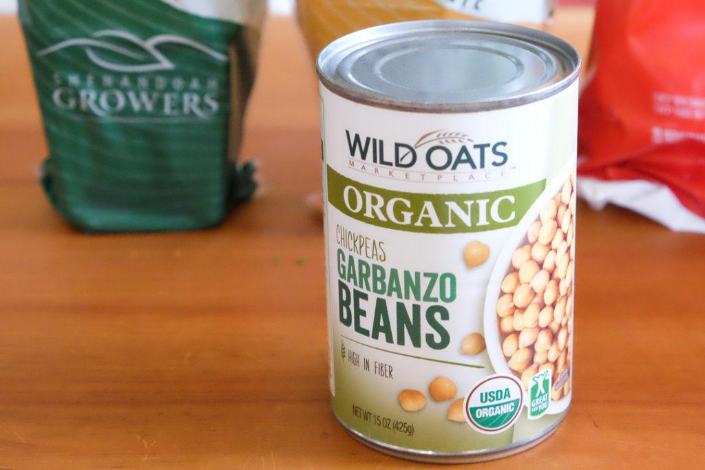 オーガニックのひよこ豆