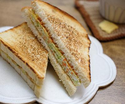 【レシピ】韓国のストリートフード★あまーい、たまごサンドイッチ