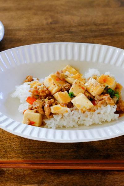 【レシピ】本格派★ピリ辛四川風・麻婆豆腐