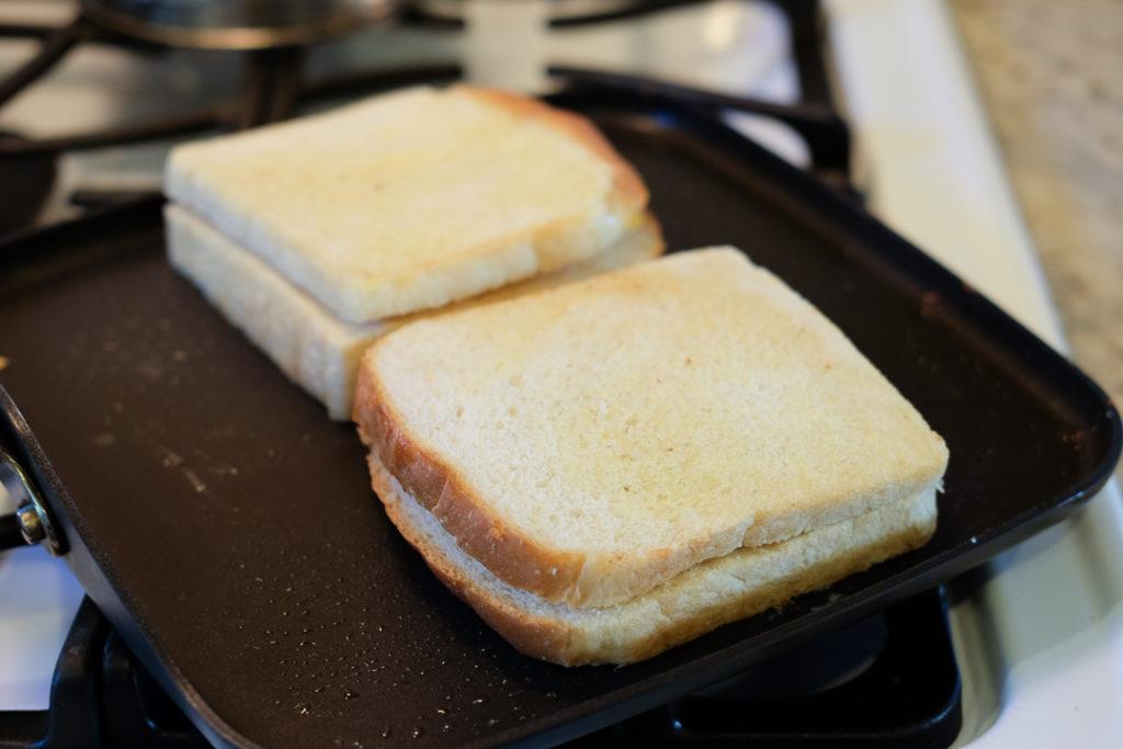 グリルドチーズサンドイッチ・手順2