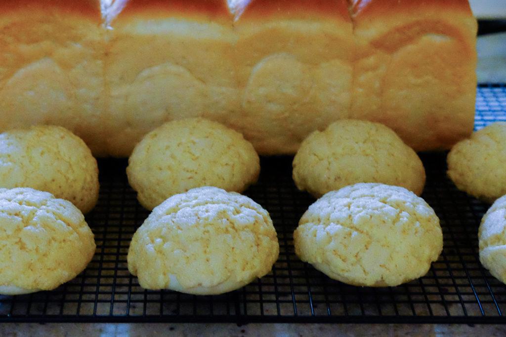 手作りメロンパン