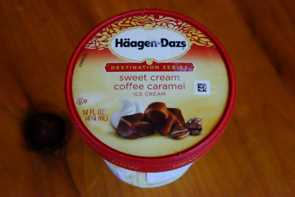 スイートクリーム、コーヒー、キャラメル