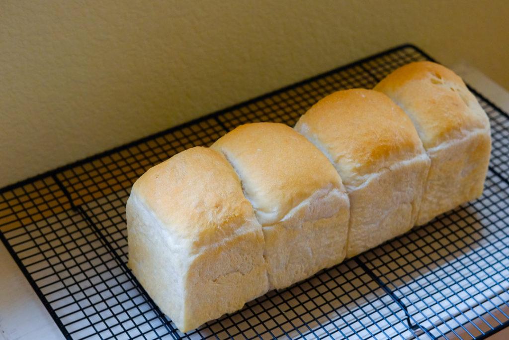 オールパーパスフラワーで作るサンドイッチ用パン