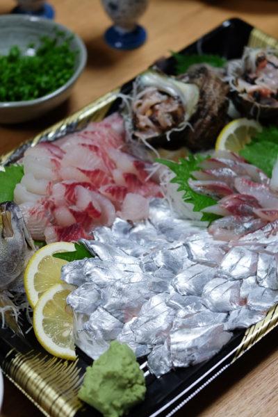和歌山県御坊市へ・「海産物卸商はし長」さんにて・新鮮なお刺身を調達する幸せ♪