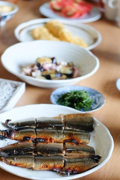 和歌山でいただく♪ いかまじり釜揚げしらすや絶品さんまのみりん干しの、贅沢朝ごはん。