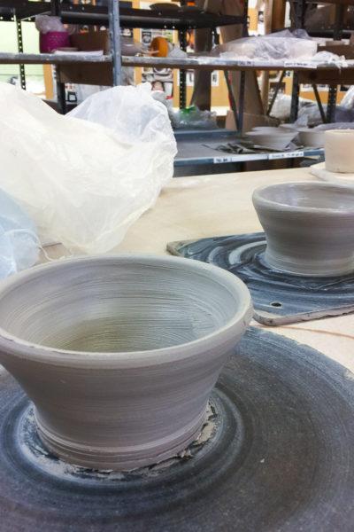 【陶芸】ろくろで散々苦戦した後に、やっとこさ形になった器たち