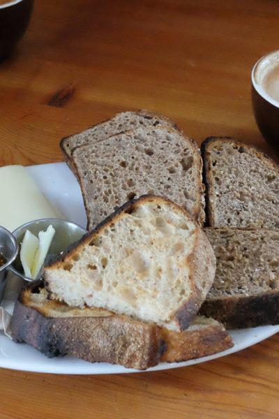 ポートランド旅行記*【Day2】 ① ベーカリーカフェ、《TABOR BREAD》での朝ごはん