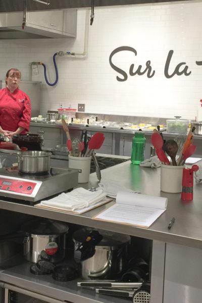 フランス料理のソースを学んできました@Sur La Table クッキングスクール