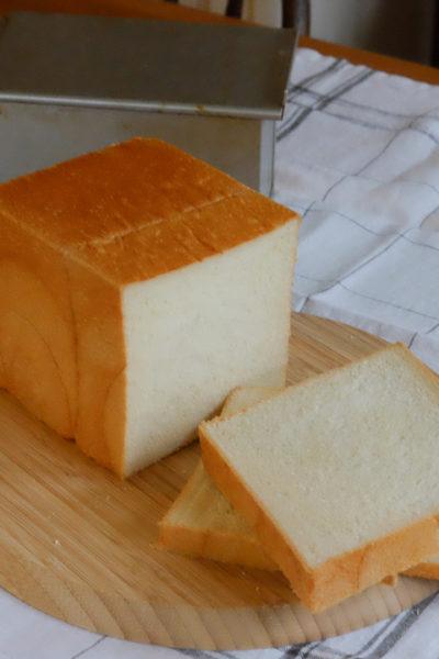 【パン】ホテル風のリッチな食パンを目指して、焼いてみた☆