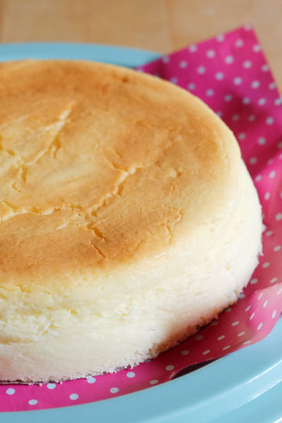 【レシピ】長年のお気に入り♪ フロマージュスフレ(スフレチーズケーキ)