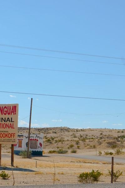西テキサス旅行記*【Day2】② ゴーストタウン、Terlinguaへ。
