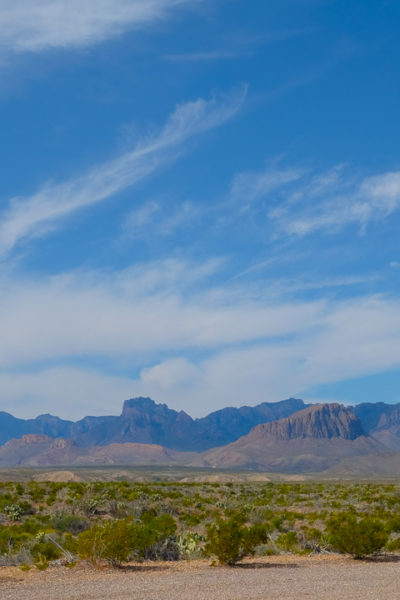 西テキサス旅行記*【Day4】① ビッグベンド国立公園・「Panther Junction ビジターセンター」&「Rio Grande Overlook」