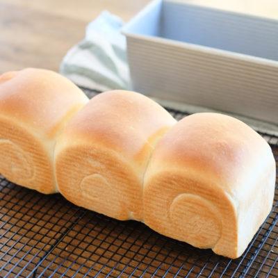 週に二回ペースで焼いている、食パン♪、とおすすめの食パン型