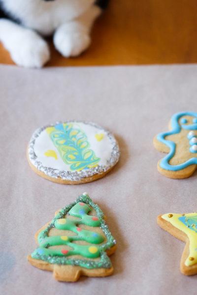 手作りは美味しい♪ — クリスマスのアイシングクッキー作り🎄