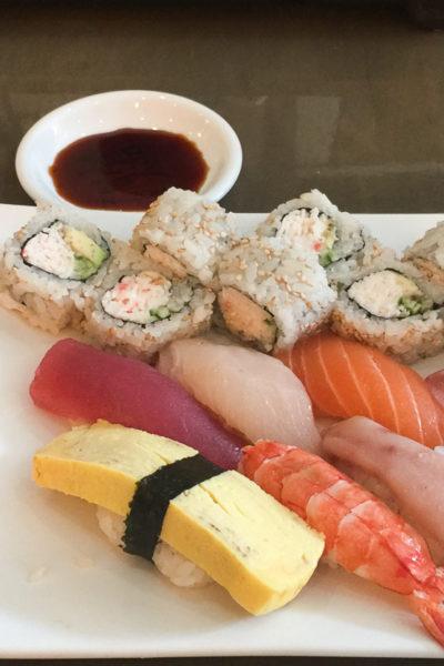 LAへの里帰り2016⑨🌴和食レストランNOZOMIで、お寿司ランチ