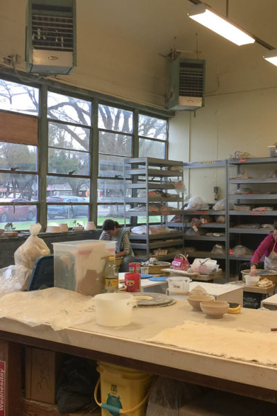 新しい陶芸教室、楽しんでます♪