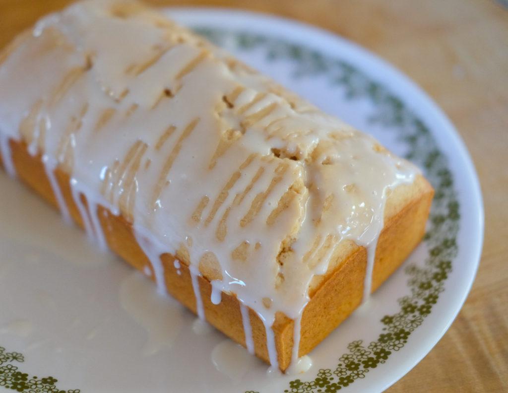 アイスクリームで作る、パウンドケーキ