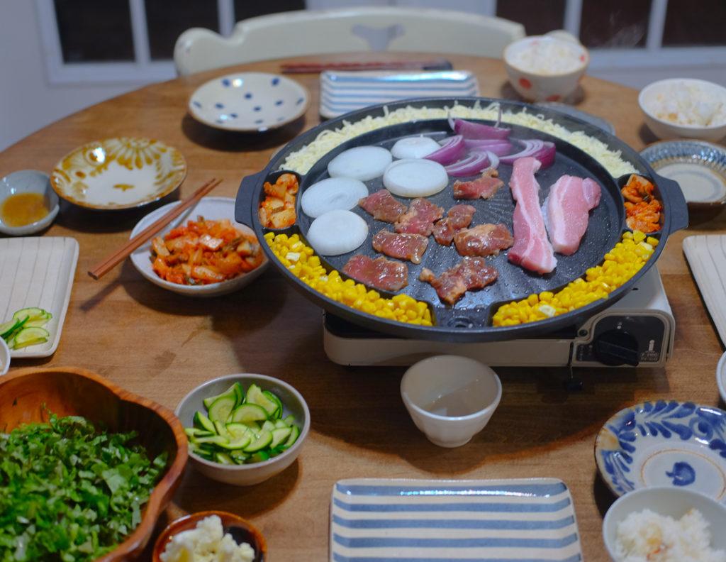 おうちで韓国風焼き肉!