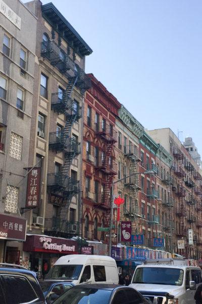 NY旅行2017②チャイナタウンで足つぼマッサージ・中華料理・クレープ