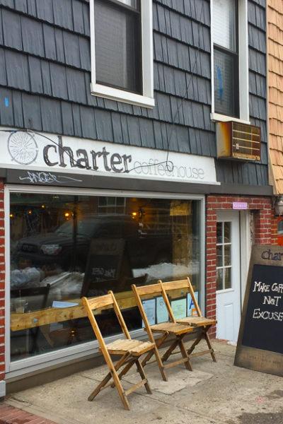NY旅行2017④カフェのはしご・ウイリアムズバーグの「Charter Coffeehouse」
