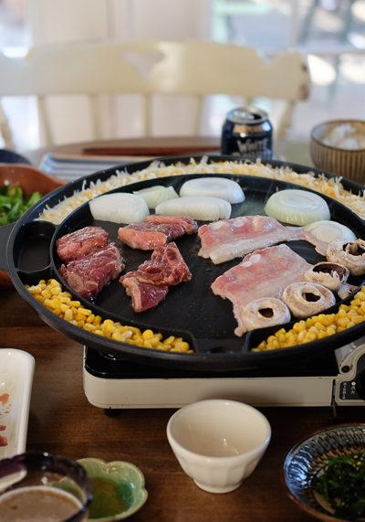 とろ~りチーズが最高★おうちで「韓国風焼き肉」ごはん