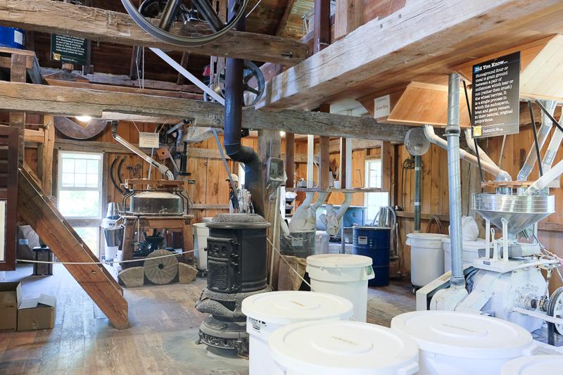 製粉所の中
