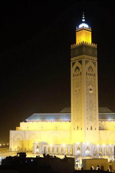モロッコ&スペイン旅行*カサブランカにて。旅行最後の夜。