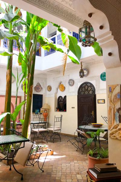 モロッコ&スペイン旅行④*マラケシュのリヤド「Riad Abaca Badra」は、オアシスでした♡