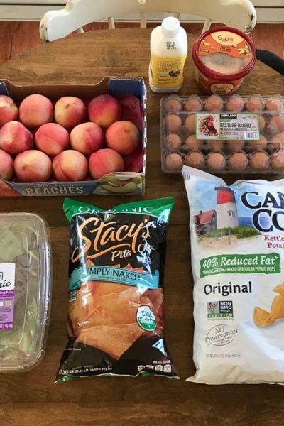 人のショッピングカートの中が気になりませんか?私が買ったものをご紹介【コストコ編】Part3 – 白桃、フムス、ピタチップスなど