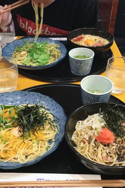 2017年夏・日本滞在⑪「洋麺屋五右衛門」のパスタの魅力は、不動だと思う(^^)