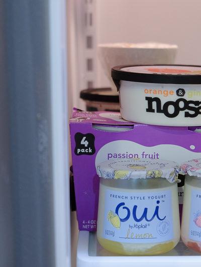 冷蔵庫を開けたときの、小さな幸せ♡お気に入りのヨーグルト[Oui]と[noosa]