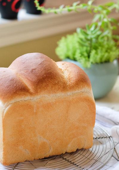 【パン】ホシノ丹沢酵母を使った、山型食パン