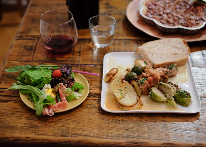 フランスの家庭料理