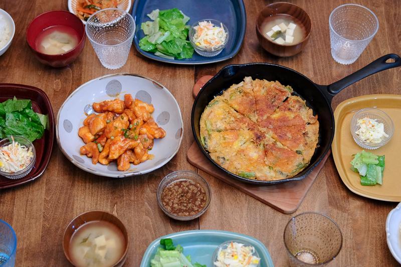 韓国料理ディナー