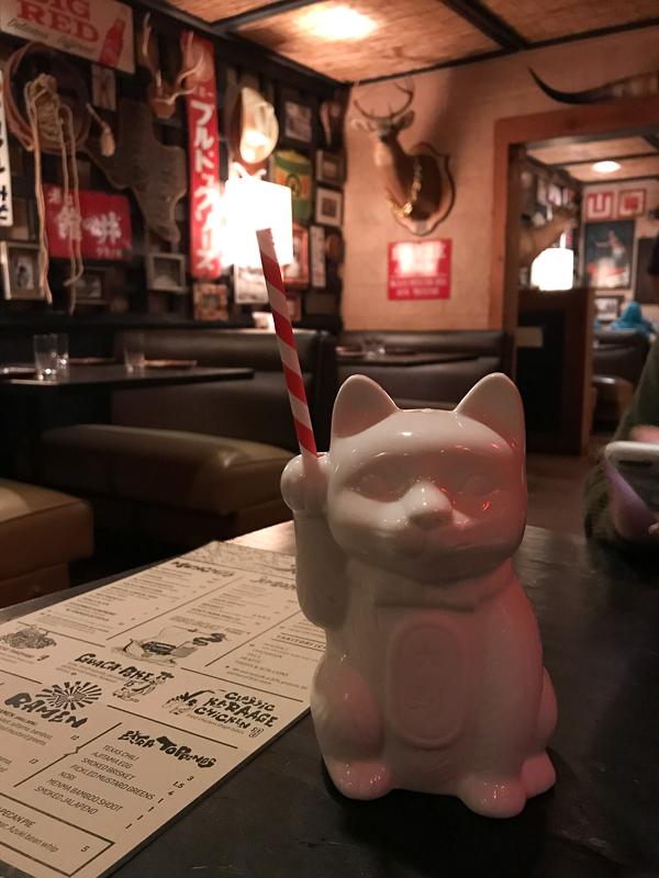 招き猫カップ