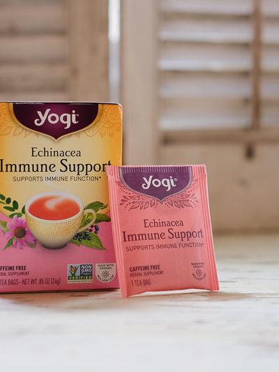 風邪予防に!ハーブ茶「ヨギティー」で免疫を高めましょう♪