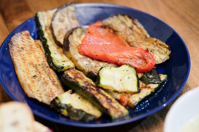 トレジョのグリル野菜