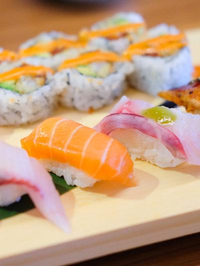 お寿司ランチ、と『畳の部屋』があるカフェ