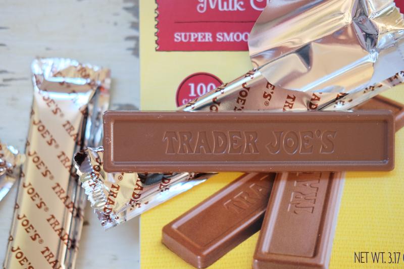 チョコレートにもトレジョの刻印が