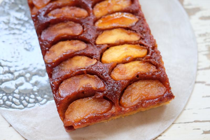 アップルアップサイドダウンケーキともいう