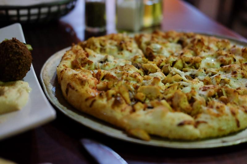 ガーリックチキンピザ