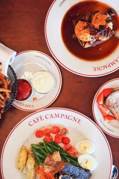 【シアトル旅行記】パイクプレイスのおすすめフレンチレストラン、[カフェ・カンパーニュ(Cafe Campagne)」
